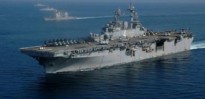 ABD'nin amfibik gemi grubunu Ortadoğu'ya gönderdi