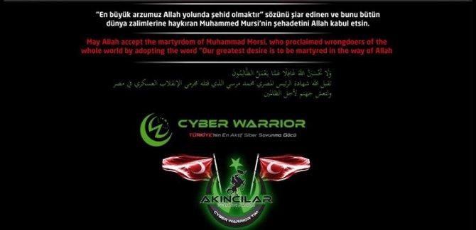Hacker'lardan Mısır devlet sitelerine siber saldırı