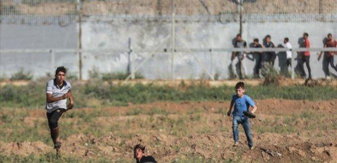 İsrail Askerleri Filistinlilere Saldırdı