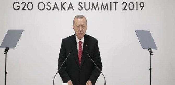Cumhurbaşkanı Erdoğan:Yaptırımın olmayacağını Trump'tan duymuş olduk