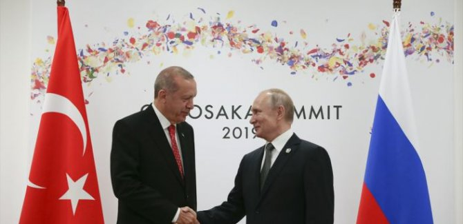 Putin,Suriye konusunu Erdoğan'la ele aldık, durum kontrol altında