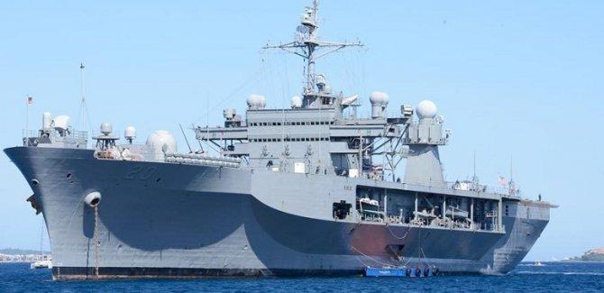 ABD savaş gemisi boğazı geçerek Karadeniz'e girdi
