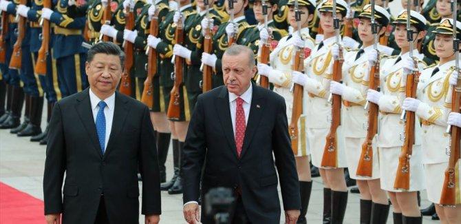Cumhurbaşkanı Erdoğan Çin'de