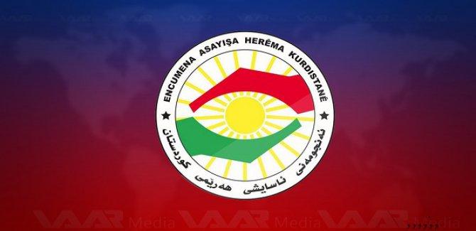 Kürdistan Güvenlik Konseyi'nden PKK'ye:Özgür Kürdistan'ın özgürleştirilmeye ihtiyacı yok