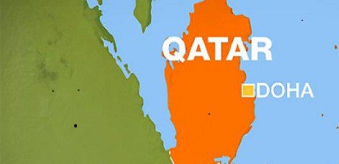 Katar'da İki Uçak Havada Çarpıştı