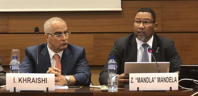 Mandela'nın torunundan İsrail'e 'Filistin satılık değildir' tepkisi