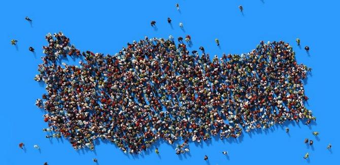 Türkiye'nin nüfusu 20 yıl sonra 100 milyon olacak