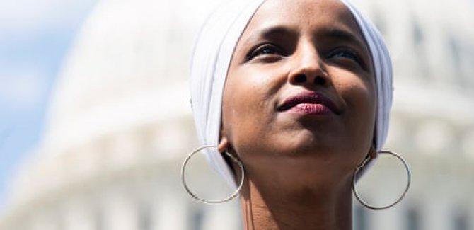 İlhan Omar: Bunlar 'ırkçı aptal'