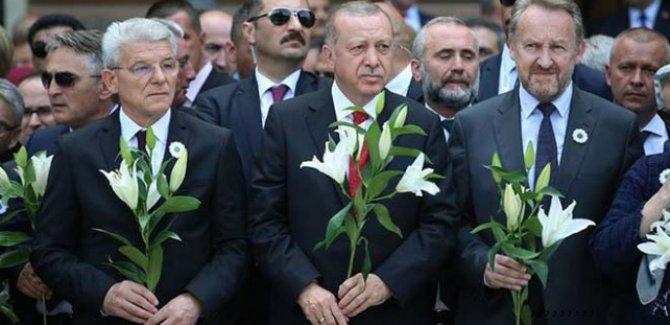 Erdoğan: Srebrenitsa soykırımı asla unutulmayacaktır