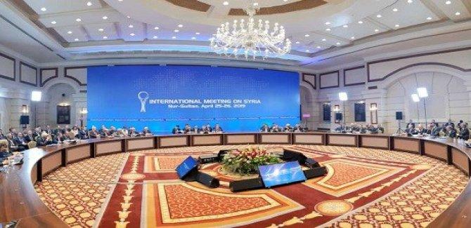 Gereke din a danûstandinên Astanayê tê lidarxistin