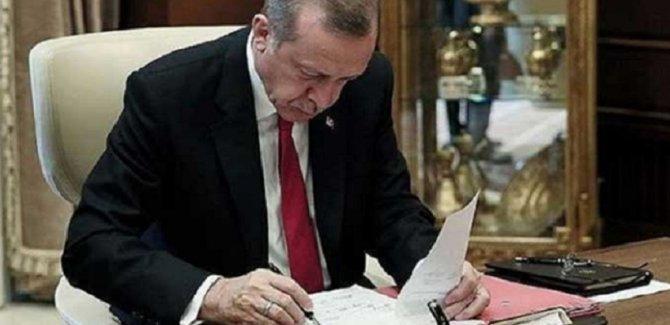 Erdoğan'dan yeni görevden alma ve atamalar