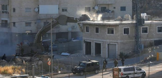 İşgal ordusu Doğu Kudüs'te yıkıma başladı