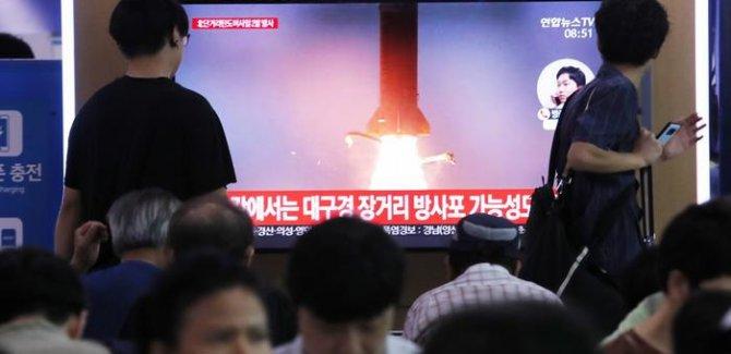 Kuzey Kore'den iki yeni füze denemesi
