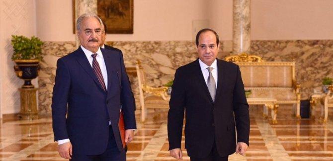 Batının Tetikçisi Halife Hafter Mısır'a Gitti