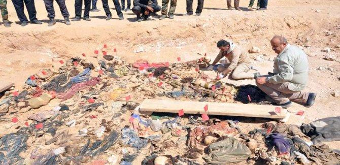 Kürt katliamına ait 171 ceset bulundu