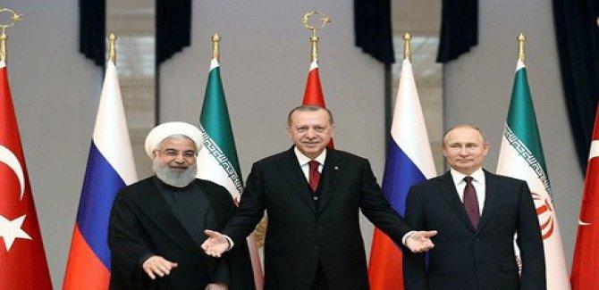 Türkiye, Rusya ve İran'dan ortak Rojava açıklaması