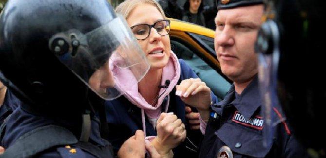Moskova'da sokaklar karıştı: 600 gözaltı