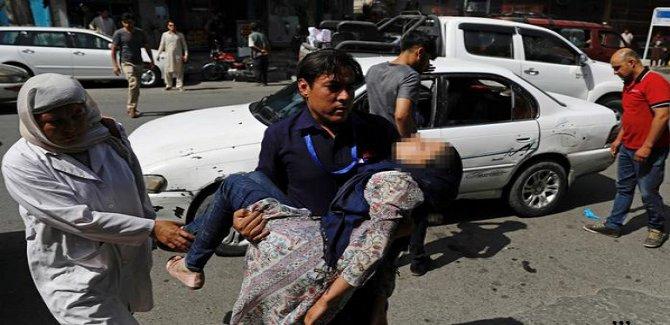 Kabil'de intihar saldırısı: 14 ölü, 145 yaralı