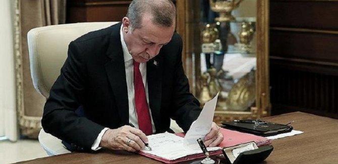 Cumhurbaşkanı Erdoğan'dan çok sayıda yeni atama
