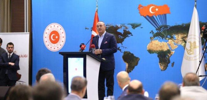 Çavuşoğlu'ndan 'güvenli bölge' açıklaması