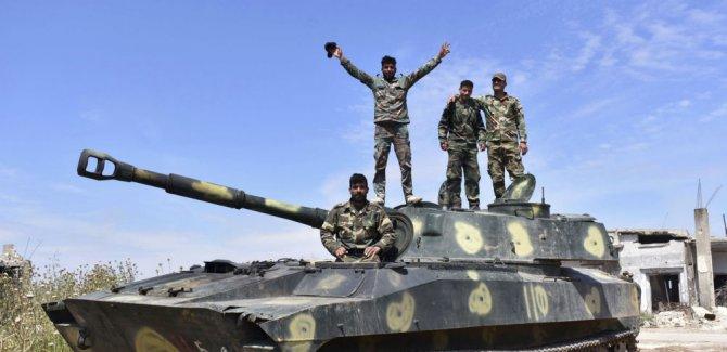 Suriye ordusu, İdlib'de ilerledi