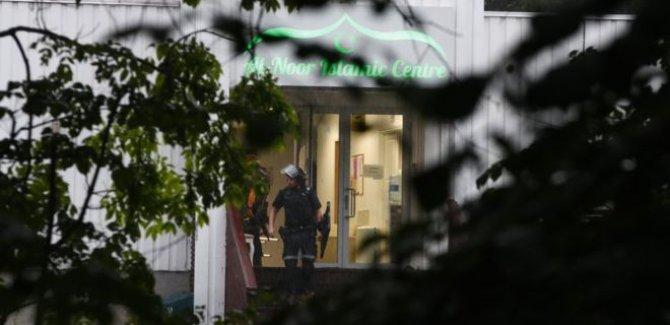 Cami saldırısına 'terör soruşturması'