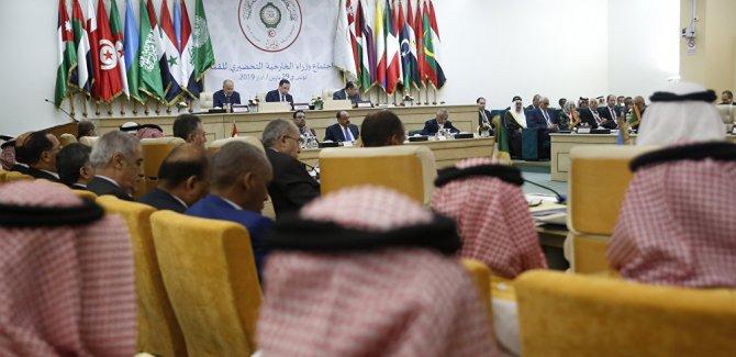 Arap Birliği'nden İsrail tepki
