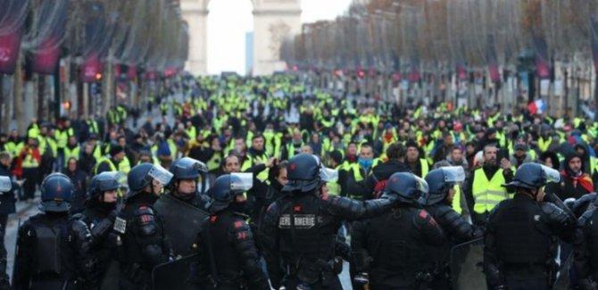 Sarı Yelekli Protesto 39'ncu Haftasında