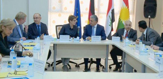 Almanya Savunma Bakanı: Peşmerge'ye desteklerimiz sürdürecek