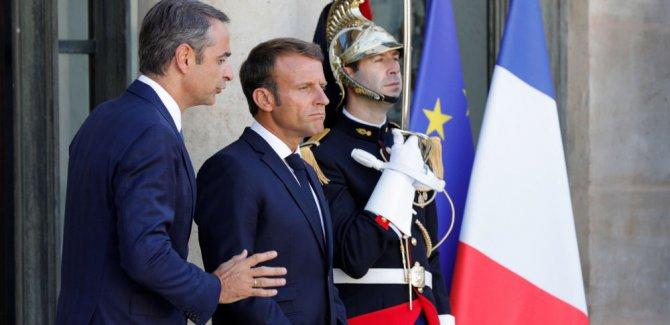 Macron: Türkiye'ye karşı zayıflık göstermeyeceğiz