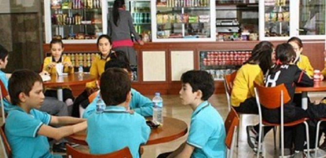 Okul kantinlerinde artık birçok ürün satılamayacak