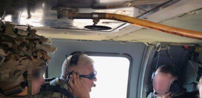 Fırat'ın doğusunda Türkiye ile ABD'den ilk ortak helikopter uçuşu