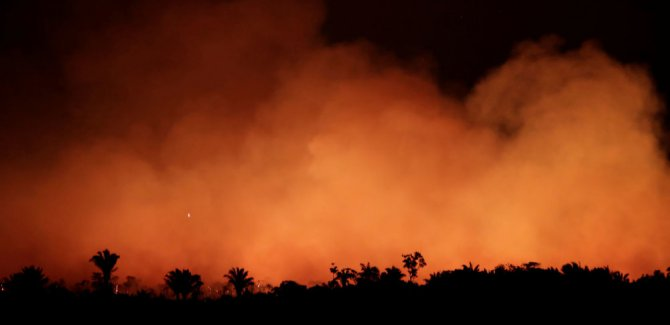 G7'den Amazon yangınları için 20 milyon euro