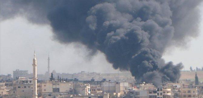 Rûsya û Sûriyê Idlib herî kêm 540 caran bombaran kirin