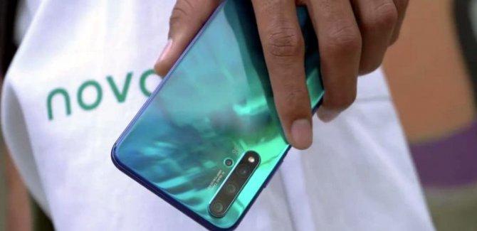 Huawei'nin yeni telefonu Nova 5T görücüye çıktı