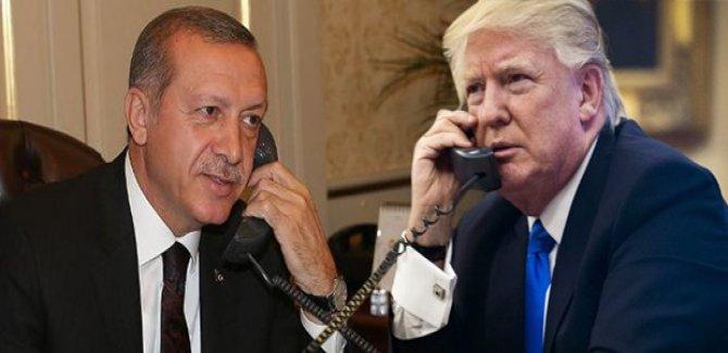 Erdogan û Trump geşedanên li Sûriyê gotûbêj kirin