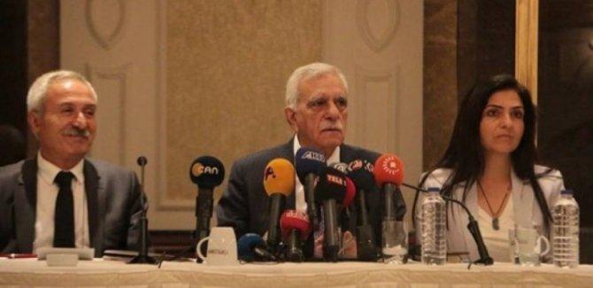 Diyarbakır, Van ve Mardin belediye başkanlarından ortak basın açıklaması