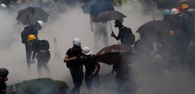 'Şemsiye Devrimi' lideri gözaltında
