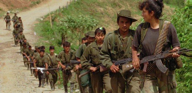FARC'a ilk operasyon: 9 ölü
