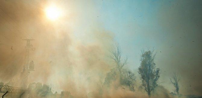 İsrail Lübnan ormanlarına yangın bombası attı
