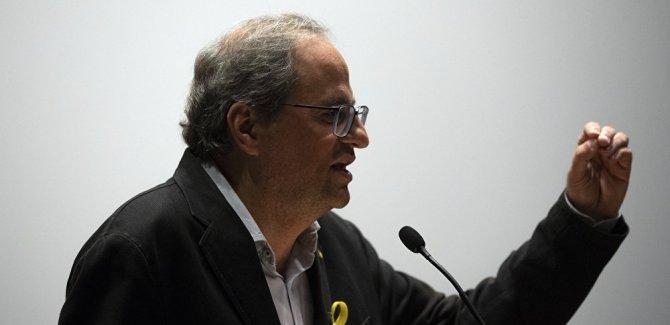 Katalonya Başkanı, emre itaatsizlikten yargılanacak