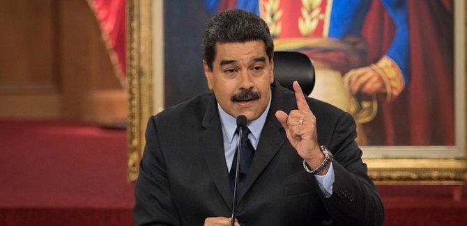 Maduro'dan orduya: Saldırıya hazırlıklı olun