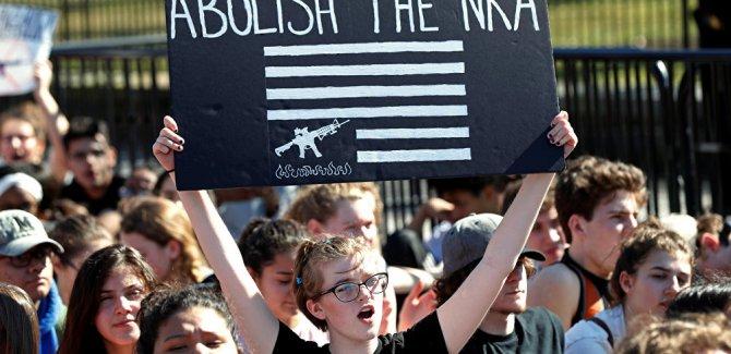ABD'nin silah lobisi kuruluşu NRA'yı 'terör örgütü' ilan etti