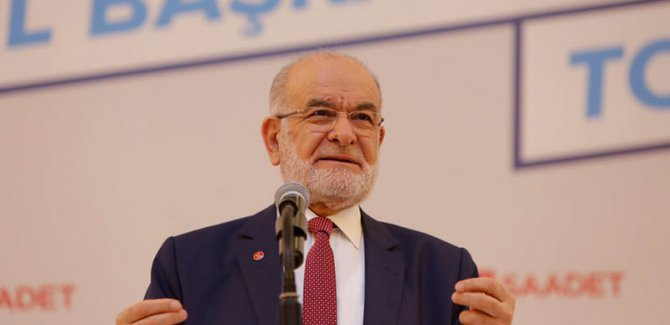 Karamollaoğlu'ndan Kaftancıoğlu'na destek: Adaletten eser kalmadı