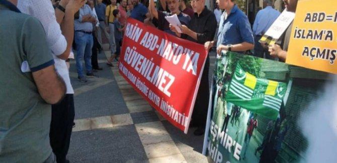NATO'ya ve Üslerine Hayır Ve Keşmir'e Destek Eylemi