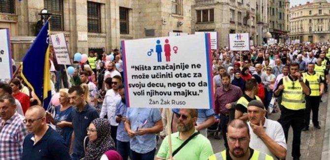 LGBT rezaleti Bosna'ya sıçradı, Boşnaklar ayağa kalktı
