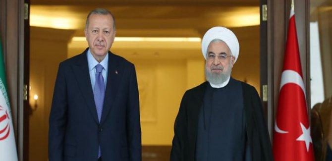 Erdoğan Ruhani ile görüşüyor