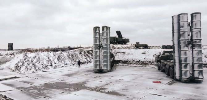 Rusya Savunma Bakanlığı: S-400'ler Arktika'da göreve başladı