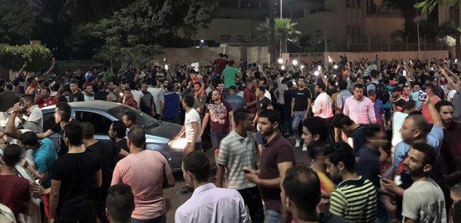 Mısır'da Darbeci Sisi karşıtı gösteriler