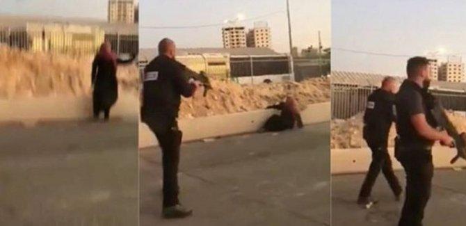 Siyonist rejimin alçakça şehit ettiği Filistinli kadının kimliği ortaya çıktı